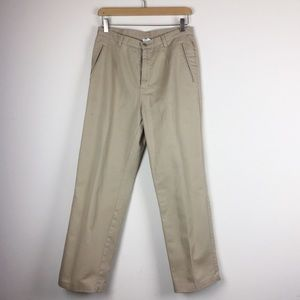 Vintage high waisted mom pants khakis trousers